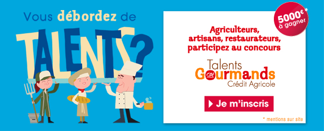 Talents Gourmands 2014